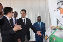 中企承建的太阳能磨坊厂在赞比亚成功运行