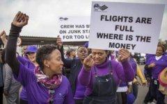 膳食补助谈判陷入僵局,南非航空公司乘务员举行罢工
