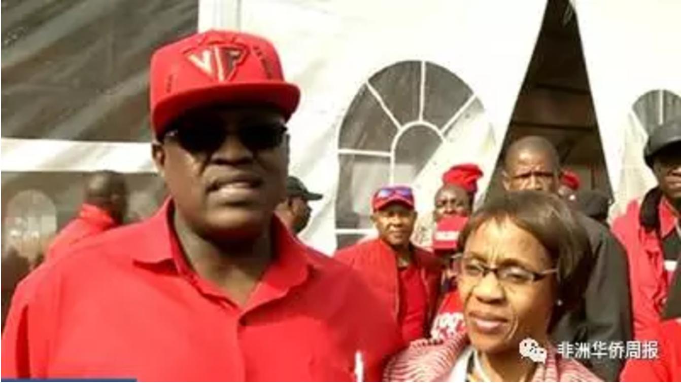 <strong>博茨瓦纳副总统马西西卫冕民主党主席</strong>