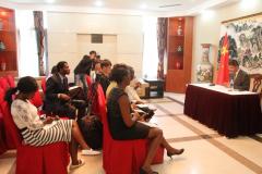 <strong>中国驻赞比亚大使举办十九大专题媒体</strong>