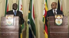 """<strong>津巴布韦国家""""变天"""",总统穆加贝""""我在家,我还好""""</strong>"""