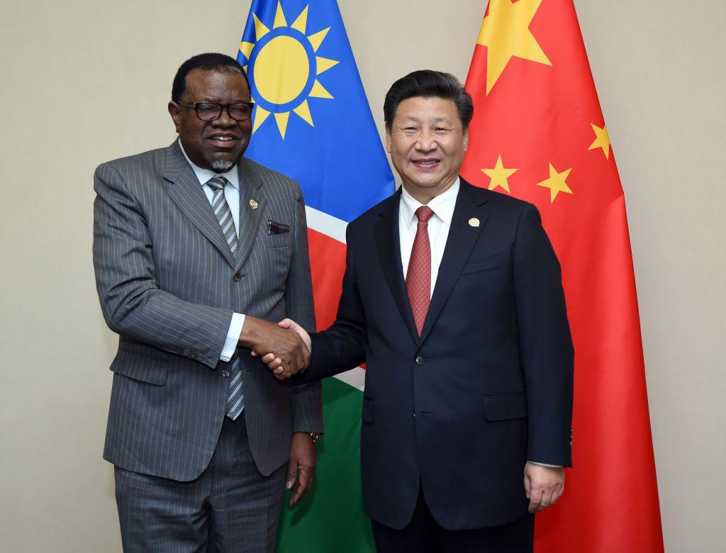 <strong>国内经济形势严峻,纳米比亚总统访华</strong>