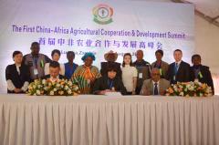 <strong>第二届中非农业合作与发展高峰会6月南</strong>