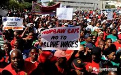 <strong>南非全国大罢工,各地频发打砸抢事件</strong>