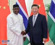 "<strong>冈比亚总统:过去与台湾的外交关系是""巨大错误""</strong>"