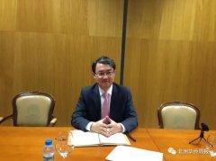 驻安哥拉使馆李斌参赞向安大学生讲解中国外交政策