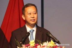 中国驻安哥拉大使崔爱民发表新春贺词