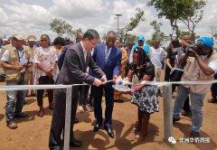 安哥拉正式启用中国政