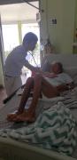 杨震教授在多米尼克抢救甲减合并房室传导阻滞患者