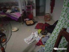 安哥拉警方深夜突击展开专项行动 驻安使馆现场进行护